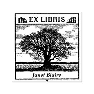 EX LIBRIS Book Plate Custom Book Stamp