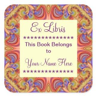 Ex Libris Bookplate Stickers