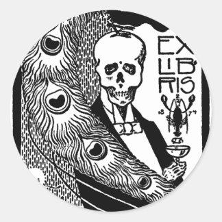 Ex Libris Classic Round Sticker
