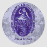 Ex Libris Dutch Blue Sticker