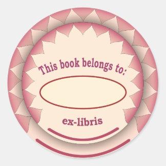 Ex-libris no 1 del pegatina