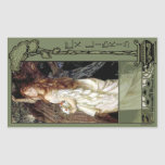 Ex Libris - Ophilia Book Plate Rectangular Sticker