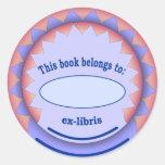 Ex-libris Sticker no.1a