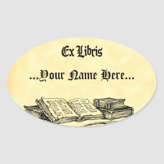 Ex Libris Vintage Books Custom Bookplate