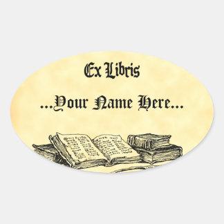 Ex Libris Vintage Books Custom Bookplate