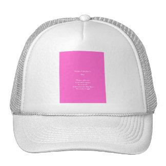 Ex-lover valentine's day trucker hat