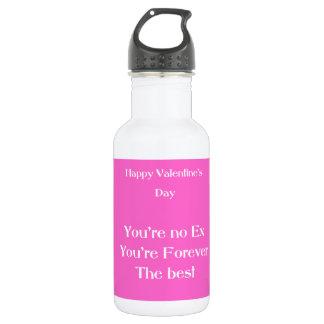 Ex lover valentine's day water bottle