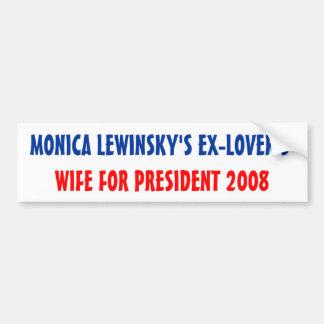 Ex-Lover's Wife Bumper Sticker