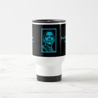 Ex-Obama Supporter! - Travel Mug / Cup Stainless Steel Travel Mug