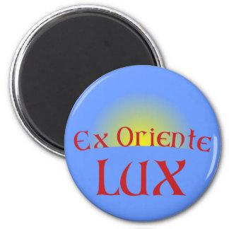 ex Oriente lux Magnet