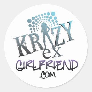 Ex pegatina de la novia de Krazy