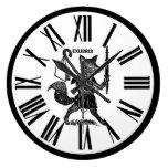 Ex reloj blanco y negro de Libris