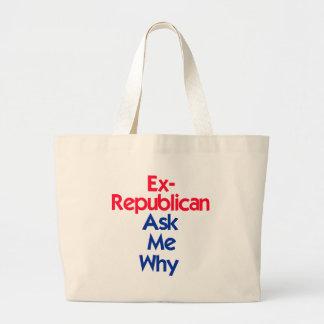 Ex republicano bolsa de mano