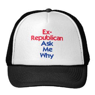 Ex republicano gorro de camionero
