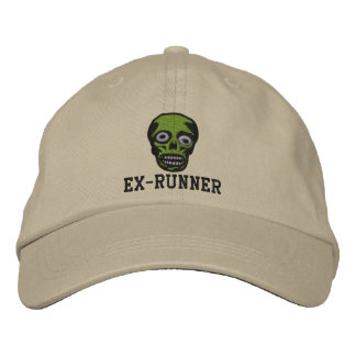 Ex-Runner Zombie Hat Embroidered Baseball Cap