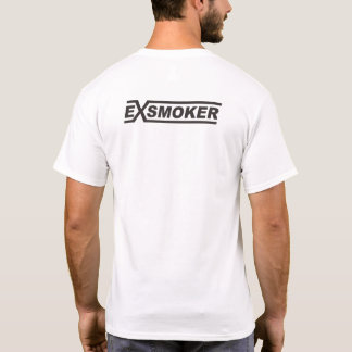 Ex Smoker White T-Shirt