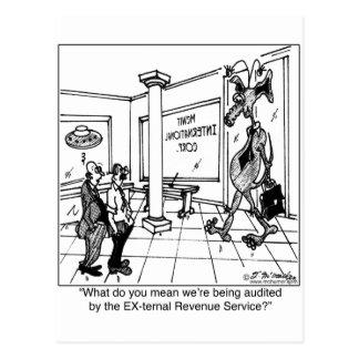 EX-ternal Revenue Service? Postcards