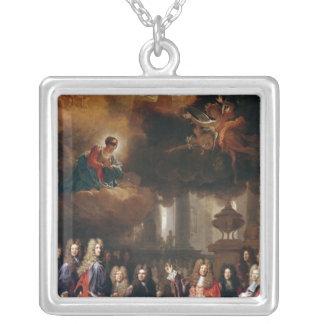 Ex-Voto, 1696 Square Pendant Necklace