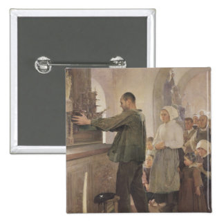 Ex Voto, 1898 Pin Cuadrado