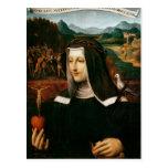 Ex Voto dedicated to St. Catherine of Siena Postcard