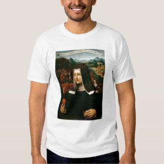 Ex Voto dedicó a St. Catherine de Siena Poleras
