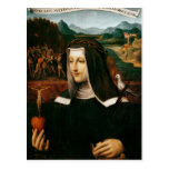 Ex Voto dedicó a St. Catherine de Siena Tarjeta Postal