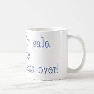 Ex-wife for sale coffee mug