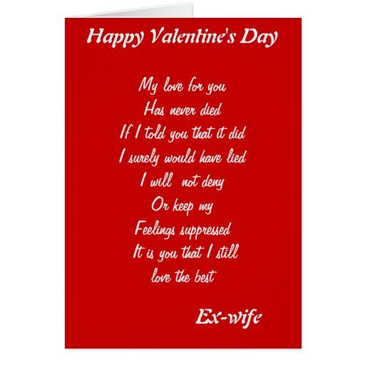 It is a graphic of Tactueux Printable Valentine Cards for Wife