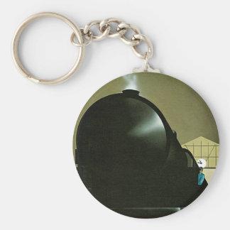 Exactitude Railway Poster Keychain