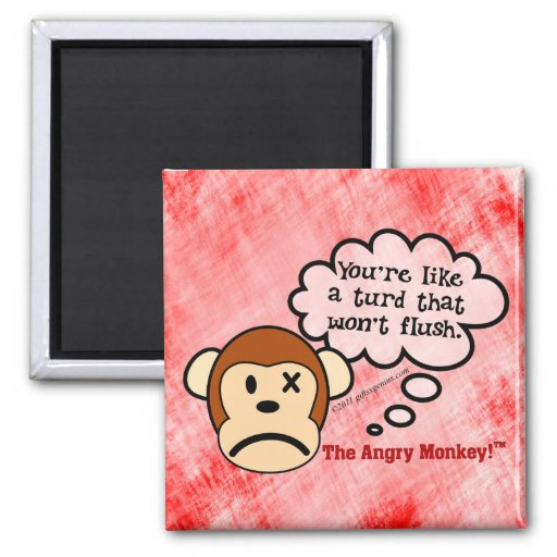 Exactly what will it take to make you go away fridge magnet