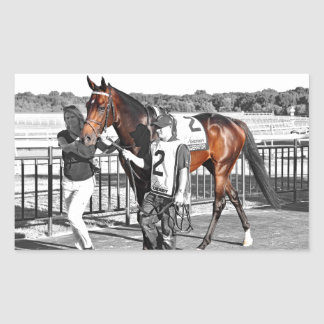 Exaggerator Rectangular Sticker