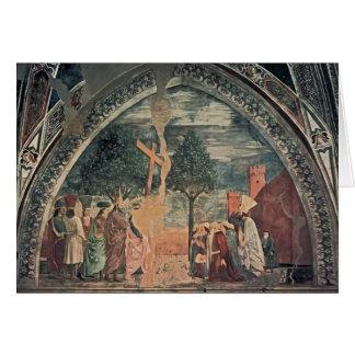 Exaltación de Francisca del della de Piero de la c Tarjetón