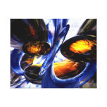 Exalted Glow Abstract Canvas Print