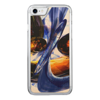 Exalted Glow Abstract Carved iPhone 7 Case