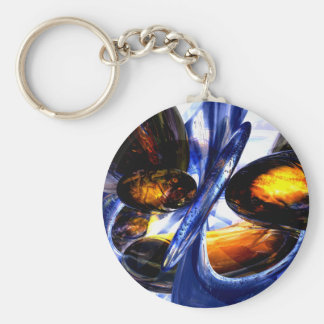 Exalted Glow Abstract Keychains