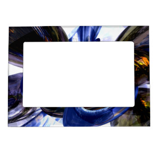 Exalted Glow Abstract Magnetic Frame