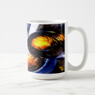 Exalted Glow Abstract Coffee Mug