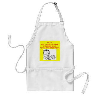 exam adult apron