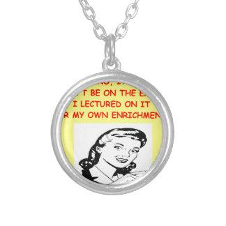 exam necklaces