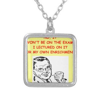 exam custom necklace