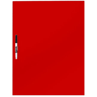 Exam Room Marker Board (Red) Dry Erase Board