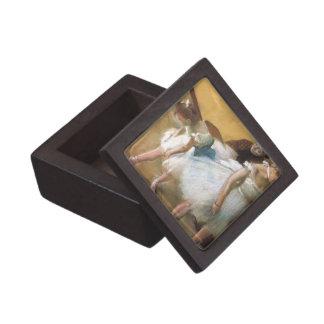 Examen de Edgar Degas, ballet de la danza del Caja De Joyas De Calidad