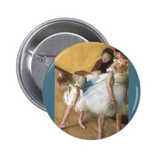 Examen de Edgar Degas, ballet de la danza del Pin Redondo De 2 Pulgadas