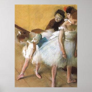 Examen de Edgar Degas, ballet de la danza del Póster