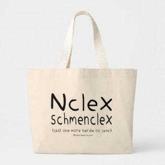 Examen del oficio de enfermera de NCLEX Schmenclex Bolsa Lienzo
