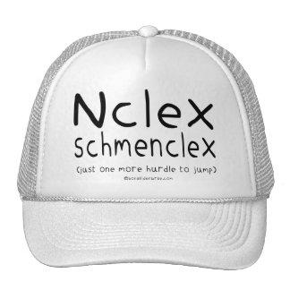 Examen del oficio de enfermera de NCLEX Schmenclex Gorra