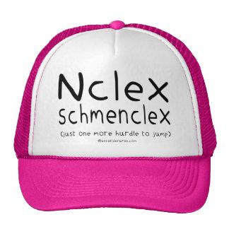 Examen del oficio de enfermera de NCLEX Schmenclex Gorros