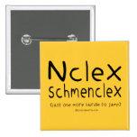 Examen del oficio de enfermera de NCLEX Schmenclex Pins