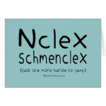 Examen del oficio de enfermera de NCLEX Schmenclex Felicitacion