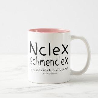 Examen del oficio de enfermera de NCLEX Schmenclex Tazas